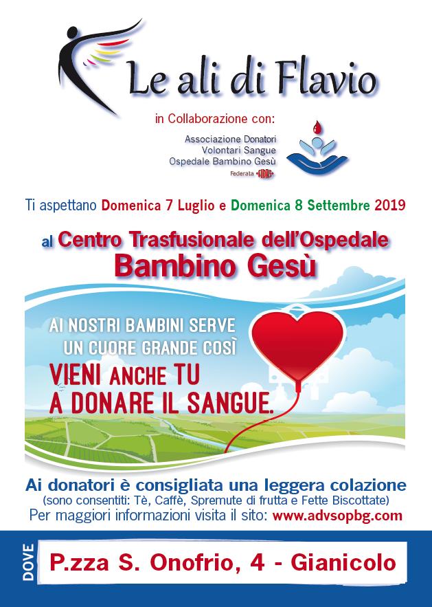 Associazione Donatori Volontari Sangue - Locandina