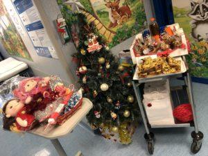 25 Dicembre 2019 - Natale in Oncoematologia consegna per bambini, ragazzi e genitori
