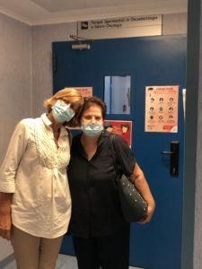Alessia e Eleana le nostre due volontarie sempre presenti nelle attività che riguardano il reparto.